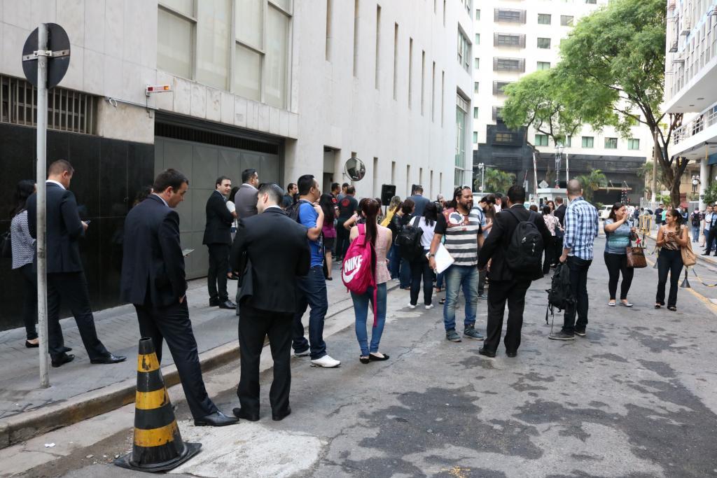 Paralisação contra reforma trabalhista atingiu o Bradesco Nova Central