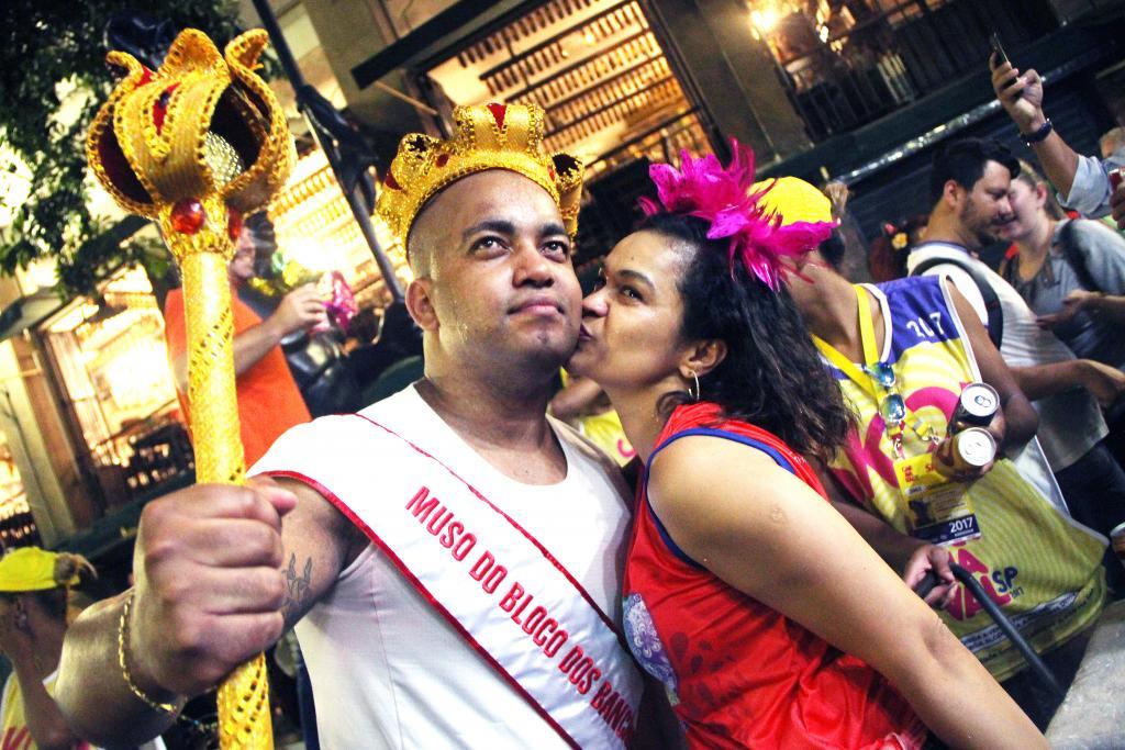 No Carnaval, desfile do Bloco dos Bancários é tradição